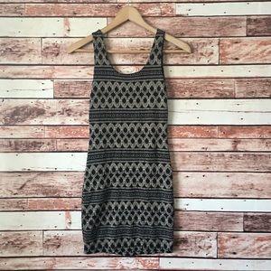 🍁SALE! Papaya Black Embroidered Mini Dress